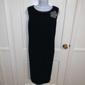 ESCADA Vintage Black Sheath Dress